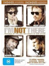 A19 BRAND NEW SEALED I'm Not There (DVD, 2008) Christian Bale Heath Ledger