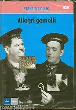 Allegri gemelli. Stanlio & Ollio (1936) DVD NUOVO Oliver Hardy & Stan Laurel