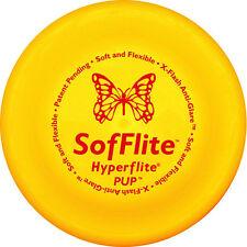 "HYPERFLITE SOFFLITE PUP DISC 7"" - Soft Flexible Puppy Sm Dog Flyer Frisbee Toy"