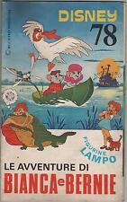 lampo disney 78 LE AVVENTURE DI BIANCA E BERNIE flash CPL completo sticker album