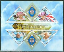 TOGO  2013 60th  ANNIVERSARY OF THE  CORONATION QUEEN ELIZABETH  II SHT MINT NH