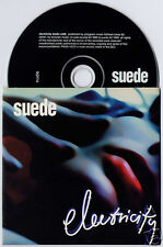 SUEDE Electricity UK 1-track promo CD Head Music