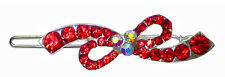 Small Barrette with Snap On Clip for Thin Hair U86175-1936