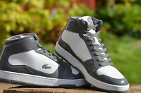 LACOSTE MEN'S 'DEFUSE' MID TRAINERS GREY/WHITE  ***RRP:£79.99***