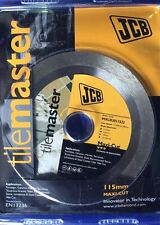 JCB TILEMASTER 115MM DIAMOND TILE BLADE CONTINUOUS RIM MXCR3011522 FAITHFULL