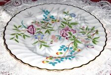 Vtg Syracuse China Floral Salad Plate Jewel Tree Flower Pattern Dish Made In USA