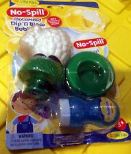 Little Kids Motorized Dip 'N Blow Little Lamb Bubble Blower No-Spill Tray