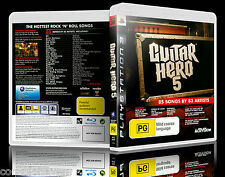 (PS3) Guitar Hero 5 / V (PG) (Music) Guaranteed, 100% Tested, Australian