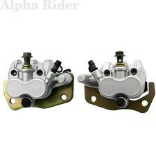 Front Left & Right Brake Caliper W/ Pads For YAMAHA UTV Rhino 660 450 06 - 2009