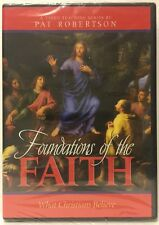 Foundations of the Faith: What Christians Believe Pat Robertson (DVD, 2006)  NEW