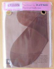 Ladies vintage nylon stockings size 10 1/2 10.5 Kayser Bondor Tahiti Tan RHT