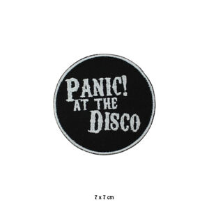 Panic At The Disco Music Band Patch Embroidered Iron On Sew On Patch For Clothes