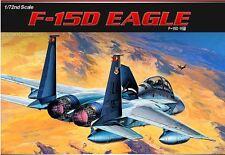 Academy 1/72  F-15D EAGLE Aircraft Airplane Plastic Model Kit Aero Gift 12477