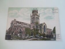 PONTEFRACT All Saints Church-Oswald Holmes Advertiser Office Franked 1906 §B1581