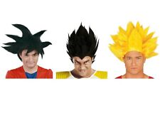 Peluca de disfraz de animé Dragon Ball Z Goku Saiyan peluca pelo para fiesta de Halloween