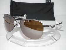 NEW OAKLEY TAILPIN AVIATOR SUNGLASSES OO4086-06 Pewter/Tungsten Iridium TAIL PIN