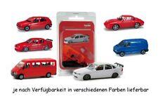 Herpa 6 verschiedene Autos (012348+012355+012362+012379+012386+012393)    #67333