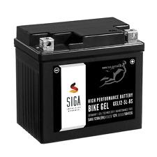 SIGA Roller Batterie 5Ah 120A/EN 12V Motorradbatterie GEL12-5L-BS YTX5L-BS