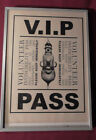 VIP+Pass%3A+Salvatore+Dali+Show+at+Hirshorn+Museum%2C+Spring+2000+Framed+With+letter