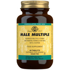 Solgar Male Multiple Multi-Vitamin & Mineral - Choice of 60 or 120 Tablets