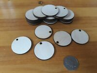Ply Wooden Circle Craft Shapes Wood DIY Decoration Disc Plaque 40 / 50 / 60mm