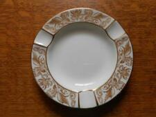 """Wedgwood Gold Florentine bone china 4 1/2"""" ashtray W4219"""