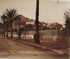Hyères Panorama France Plaque M23 Stereo Vintage Positif 6x13cm