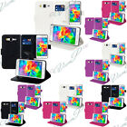 Lot 2 Etui Housse Portefeuille Video Samsung Galaxy Grand Prime G530F/ Duos TV