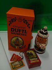 NEW HTF Duftl Mannchen Kathe Wohlfahrt Gingerbread Man Smoky Incense 105-500 NIB