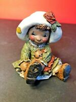"""All God's Children"", Martha Holcombe Figurine Art, Ragbaby, ""Issie""#29 (1995)"
