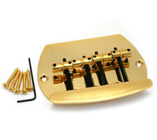 Gold 4-String Music Man® OLP Style Bass Bridge BB-MM4-G
