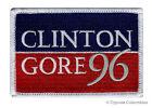CLINTON GORE 96 iron-on embroidered PATCH VOTE DEMOCRAT ELECTION BILL HILLARY AL