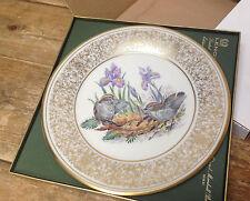 Birds Edward M Boehm Lenox Collector Plate 1979 Crowned Kinglets Box Usa