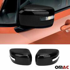 For JEEP Renegade 2015-2020 Genuine Carbon Fiber Mirror Cover Cap 2 Pcs