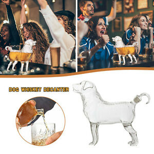 This Dog Whiskey Decanter Makes A Perfect Centerpiece For A Home Bar Decoration
