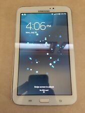 "Samsung Galaxy Tab 3 SM-T217S 7"" 16GB Wi-Fi 4G Sprint Tablet White 4.4 JellyBean"