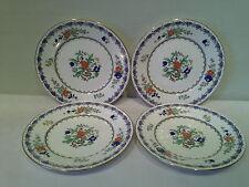 A Beautiful Set of 4 Adderley  ANTIQUE Bread/Dessert Plates