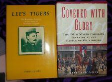 New listing 2 Confederate Unit Books - Civil War