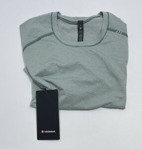 LULULEMON Men's Metal Vent Tech Short Sleeve 2.0 Shirt Green Size: XL