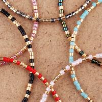 1pc Cuff Bracelets Weave Mix Seed Beads Bracelet Friendship Bangles Jewelry