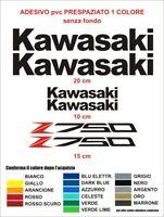 Kit Adesivi Kawasaki z750 z 750 coppia carena serbatoio decals stickers pvc