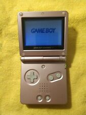 REFURBISHED Japanese Pearl Pink GBA SP Nintendo GameBoy Advance SP AGS-001