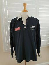 Vintage 1994-96 Canterbury Steinlager New Zealand All Blacks Rugby Jersey XL Top