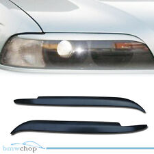 For BMW E39 5-series Headlight Eyebrows Eyelids Cover M5 520 530