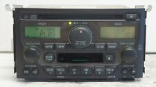 2003-2005 Honda Pilot Cassette CD Player Radio Am Fm 39100-S9V-A210 1TV0 OEM