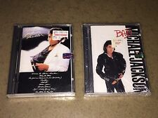 LOT Of 2 - Michael Jackson Minidisc Thriller And Bad Album *Factory Sealed! RARE