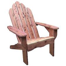 AmeriHome USA Amish Made Cedar Adirondack Chair Unfinished