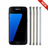 NEW Samsung Galaxy S7 32GB (SM-G930A, GSM Unlocked) Black Gold