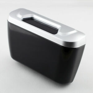 ABS Car Door Slot Trash Can Rubbish Switch Storage Holder Case Box Accessories