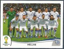 PANINI WORLD CUP 2014- #204-HELLAS-GREECE TEAM PHOTO